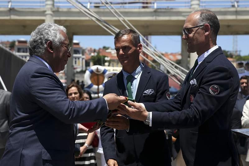 António Costa, João Rodrigues e José Garcia