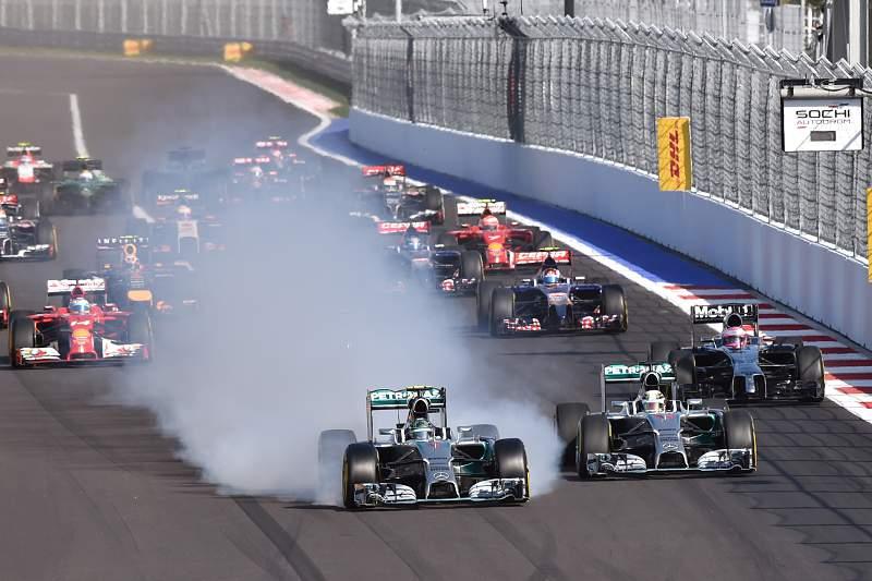 O Grande Prémio da Rússia vai decorrer no Autódromo de Sochi
