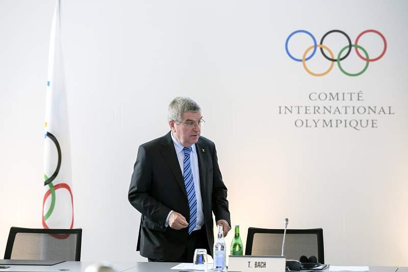 Thomas Bach, presidente do COI