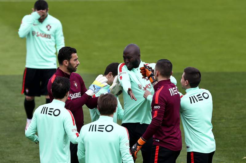 Portugal training session