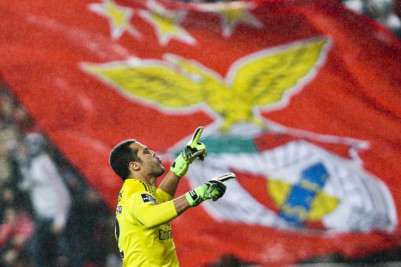 Júlio César, guarda-redes do Benfica