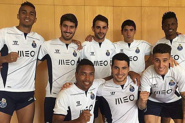 Ausentes do FC Porto enviam mensagem de apoio aos colegas