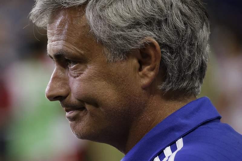 José Mourinho, treinador do Chelsea