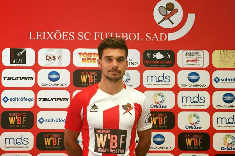André Teixeira, defesa lateral do Leixões