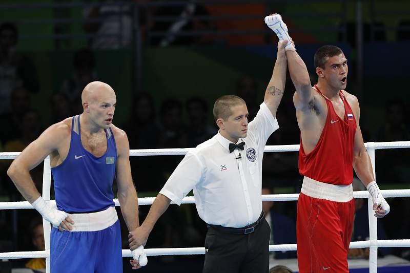 Evgeny Tishchenko foi declarado vencedor