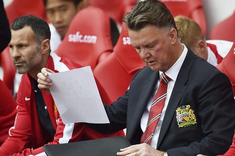 Louis Van Gaal, treinador do Manchester United
