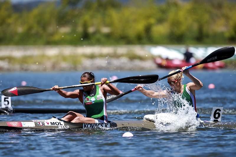 Canoas em sprint