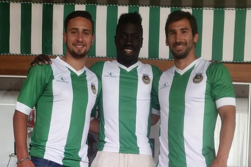 Yazalde, Pedrinho e José Postiga