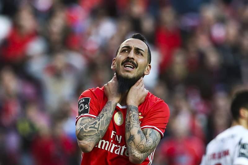 Mitroglou, avançado do Benfica