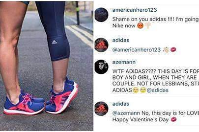 Adidas lutou contra a homofobia no Dia dos namorados