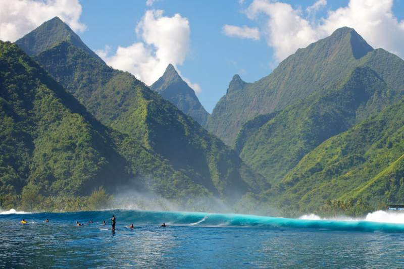 Billabong Pro Tahiti, Polinésia francesa