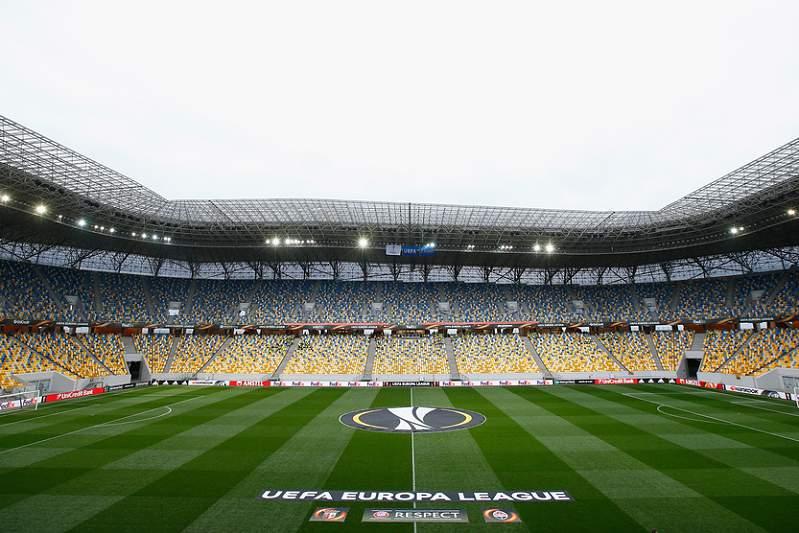Arena Lviv, Ucrânia: Shakhtar-SC Braga