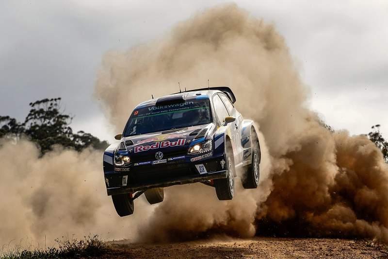 Andreas Mikkelsen em ação no Rali da Austrália