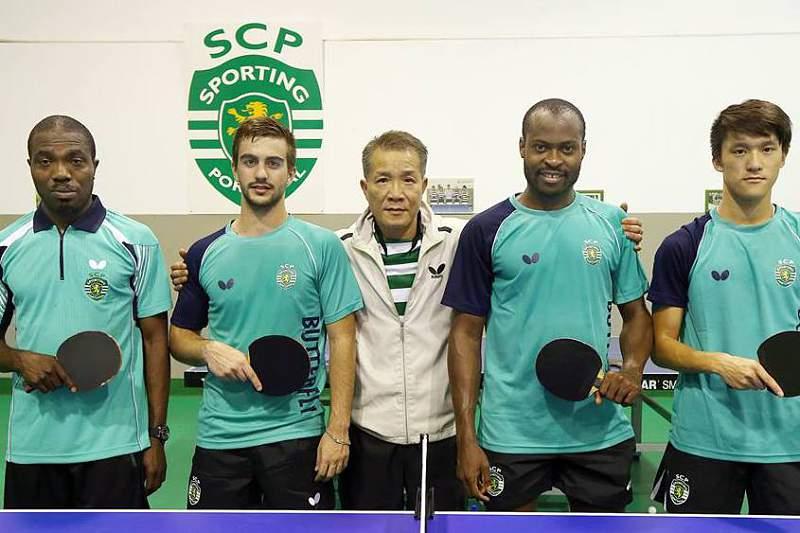 Equipa de ténis de mesa do Sporting Clube de Portugal