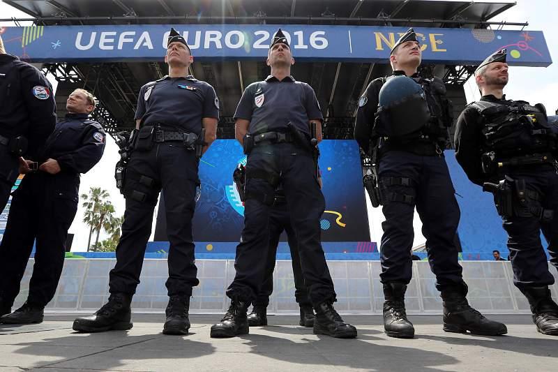 Euro2016: Polícia francesa