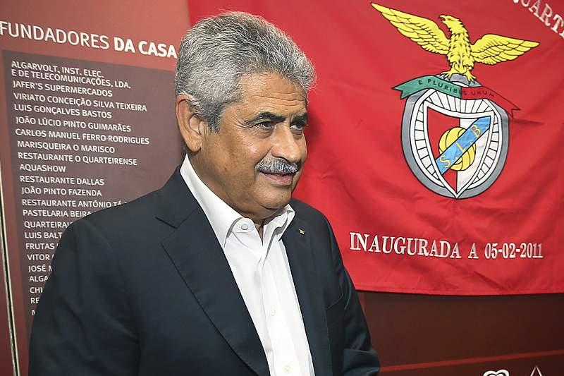 Luís Filipe Vieira pede mais paciência aos adeptos do Benfica