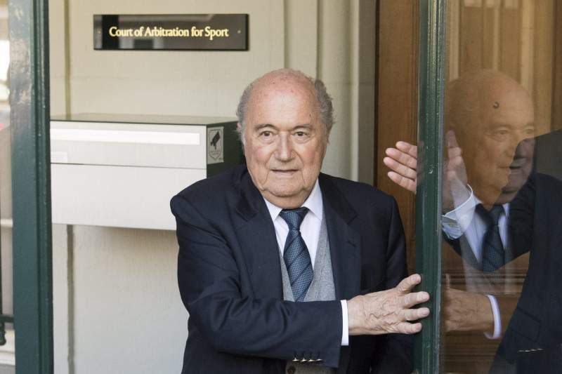Blatter at CAS appeals court