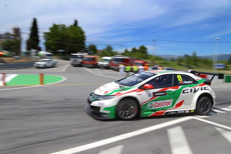 WTCC: Tiago Monteiro no circuito de Vila Real