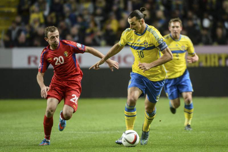Suécia vs Moldávia