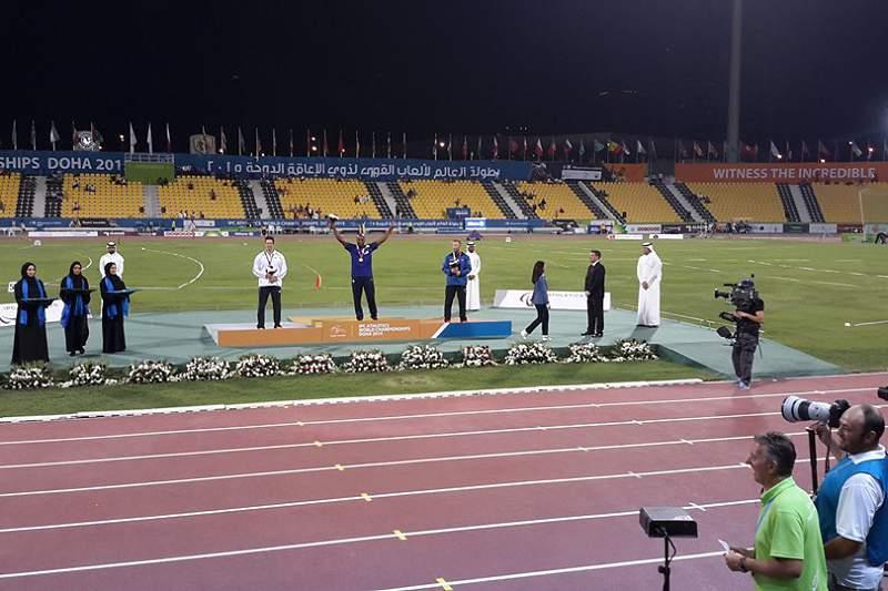 Márcio Fernandes campeão do Mundo no lançamento do dardo