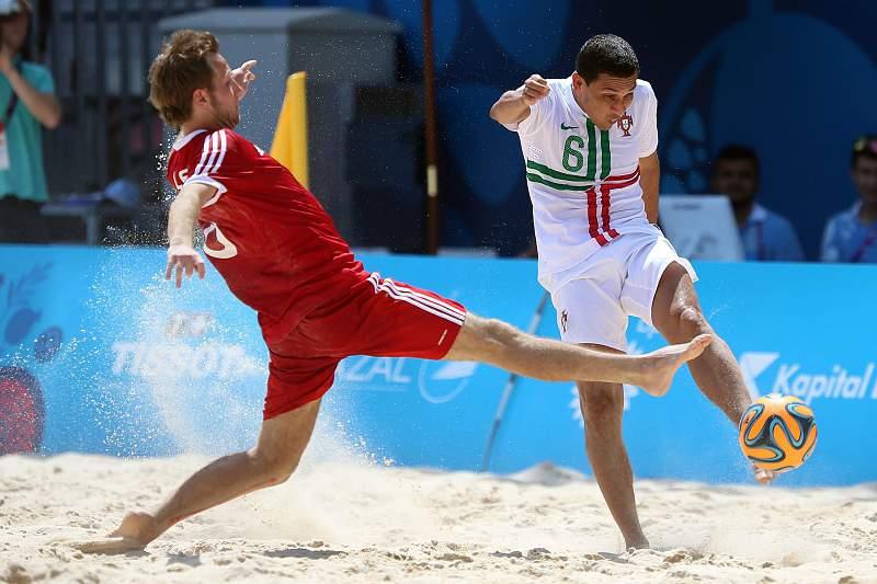 Alan Cavalcanti em ação em Baku