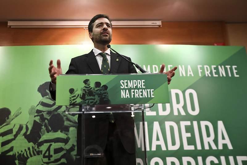 Pedro Madeira Rodrigues, candidato às eleições do Sporting