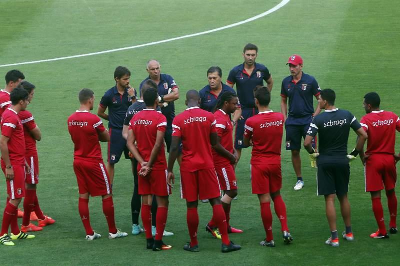 Treino do Sporting de Braga