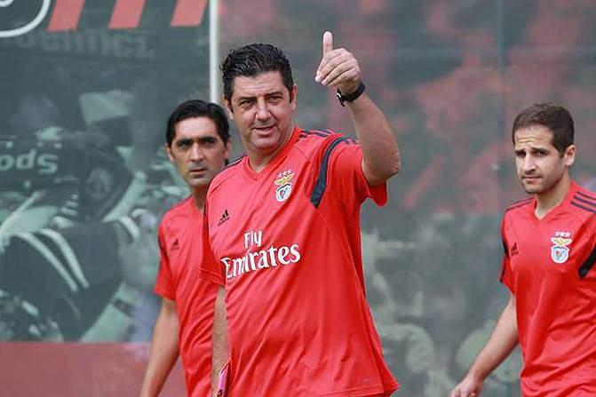 Rui Vitória parte confiante para a nova época no Benfica