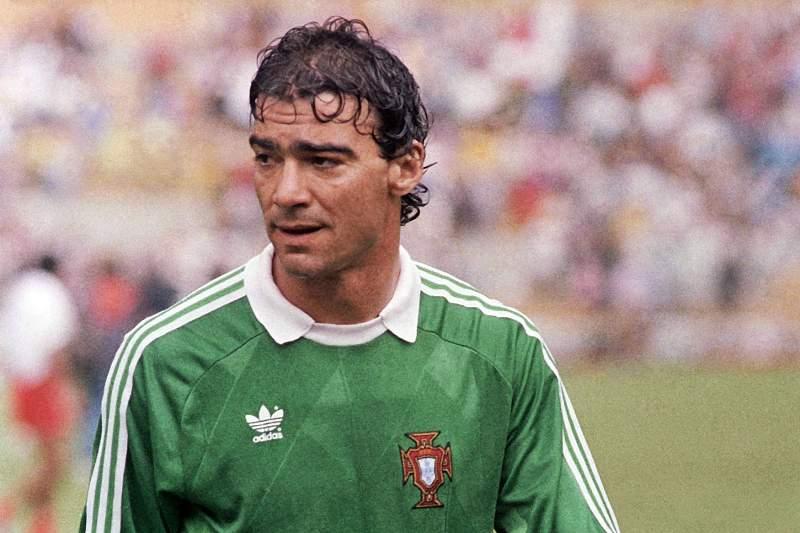 Vítor Damas, a glória do Sporting representou a seleção nacional aos 36 anos