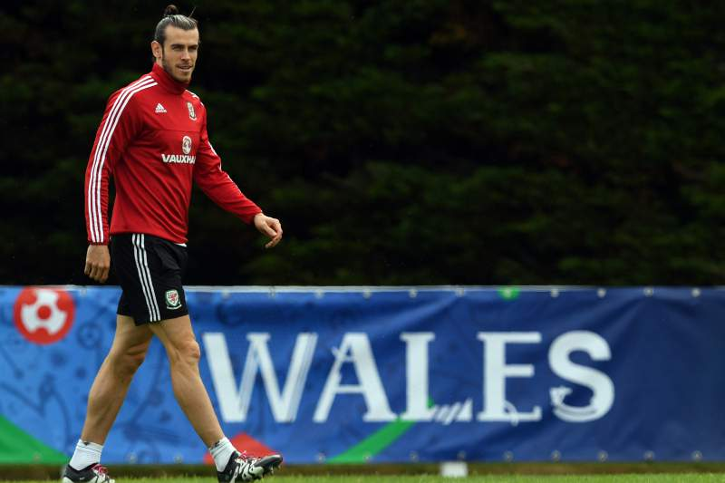 Gareth Bale falhou o treino desta segunda-feira