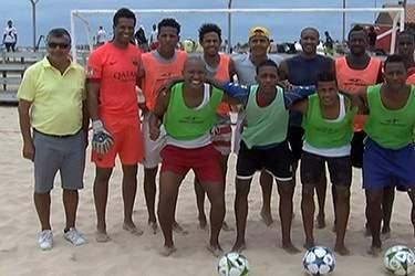 Praia de Santa Maria acolhe primeira edição do Sal Beach Soccer Cup