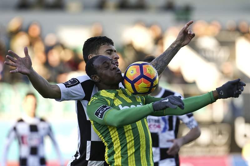 Tondela e Boavista empataram a 1-1 no jogo da 14ª jornada