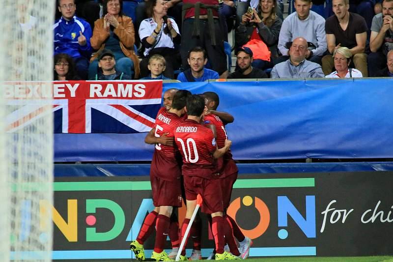 Sub 21: Portugal festeja golo