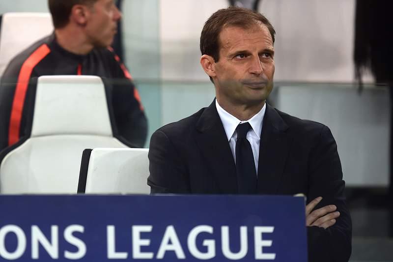 Massimiliano Allegri, treinador da Juventus