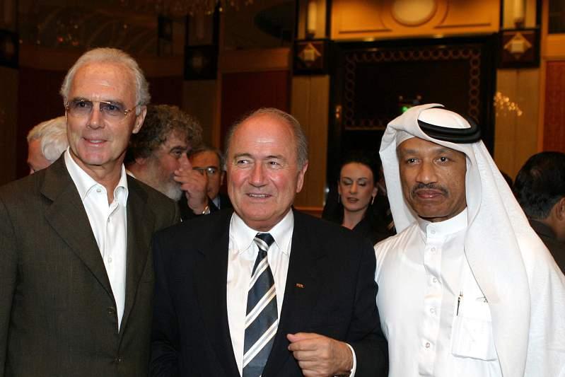 Beckenbauer visitou o Qatar em várias ocasiões