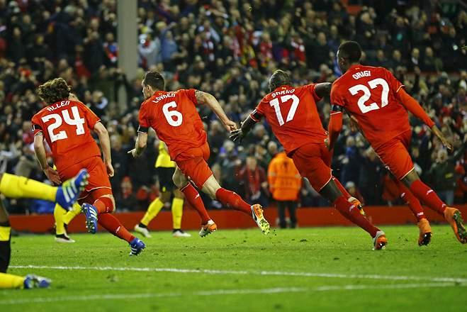 Liverpool v Borussia Dortmund - UEFA Europa