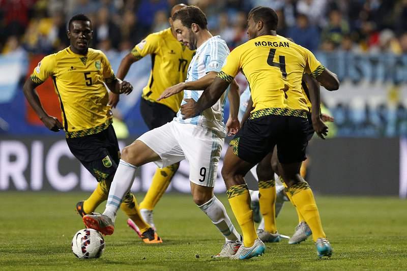 Jamaica - Argentina