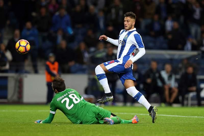 Rui Pedro, do FC Porto, marca ao SC Braga