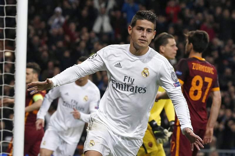 James Rodriguez, jogador do Real Madrid