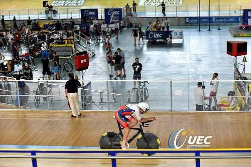 Júnior Miguel do Rego em 12.º na perseguição dos europeus de ciclismo