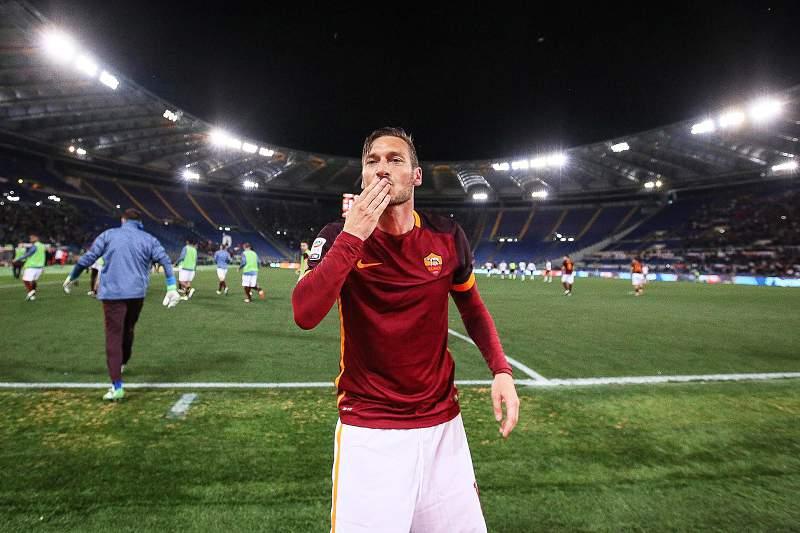 Francesco Totti, jogador da AS Roma