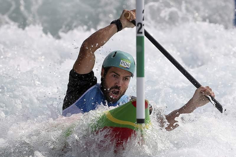 Rio2016: Canoagem slalom: José Carvalho