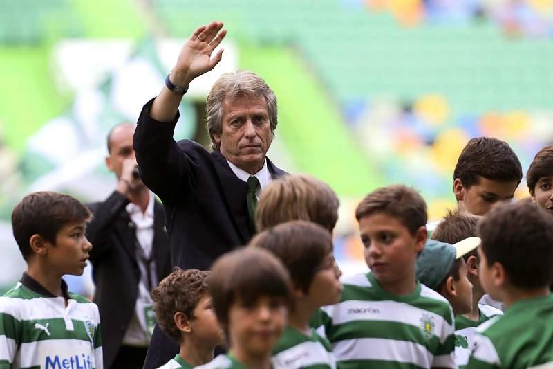 Jorge Jesus apresentado como novo treinador do Sporting