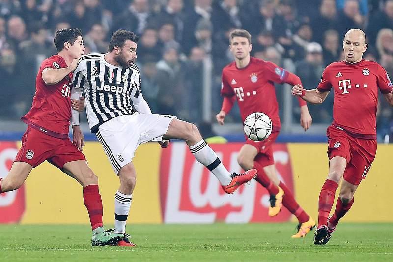 Empate de loucos entre Juventus e Bayern