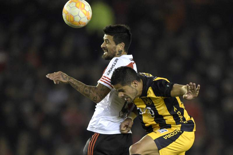 Lucho Gonzalez regressou ao River Plate