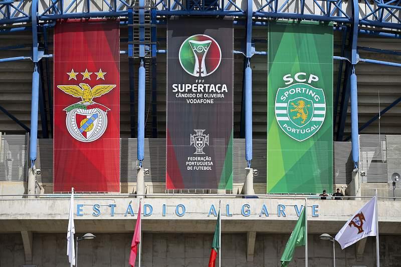 Supertaça Cândido de Oliveira: Benfica vs Sporting