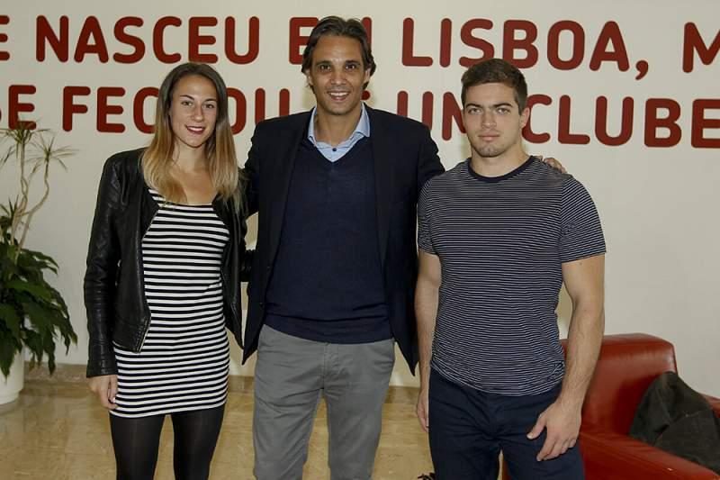Benfica atribui prémio Miklos Fehér a campeão de remo e campeã de atletismo
