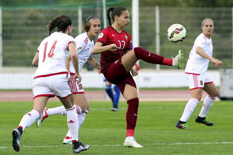 Futebol feminino: Portugal - Espanha