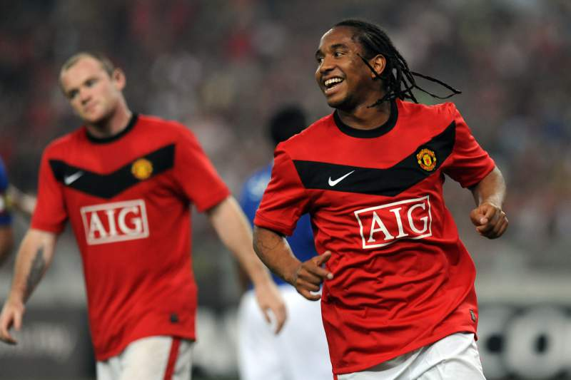 Anderson no Manchester United