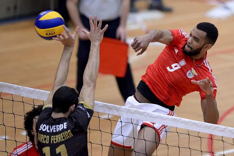 Marco Ferreira em ação pelo Sporting de Espinho